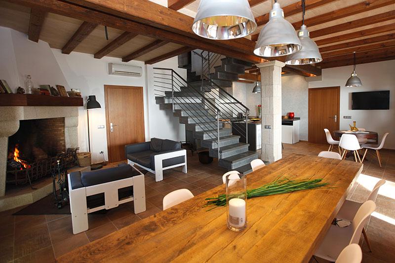 Pyrenees masia interior