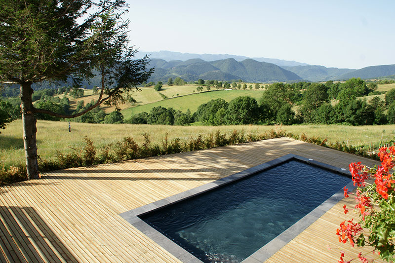 Pyrenees swimming pool