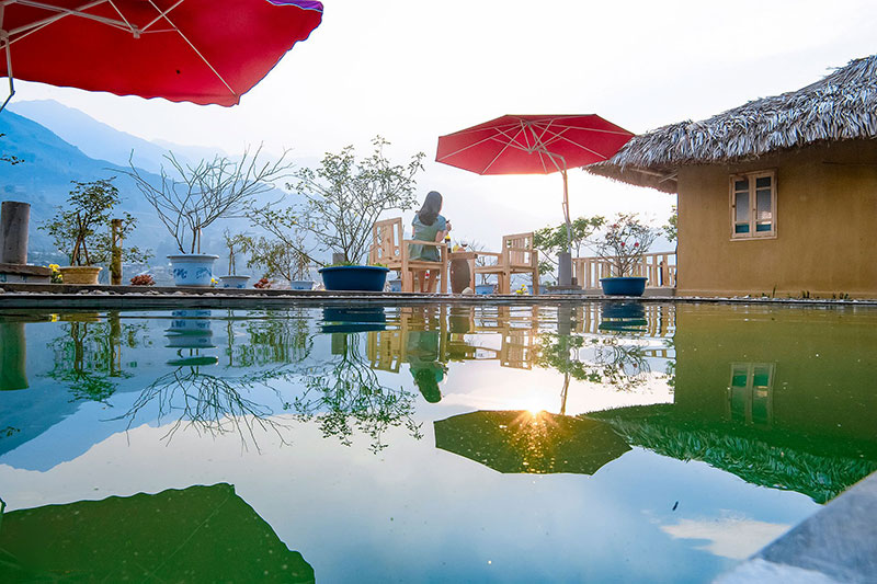 Resort with pool Vietnam
