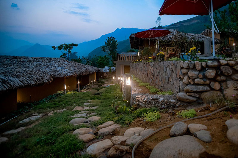 Vietnam run retreat accommodation