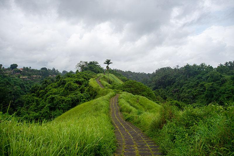 Bali retreat running trail
