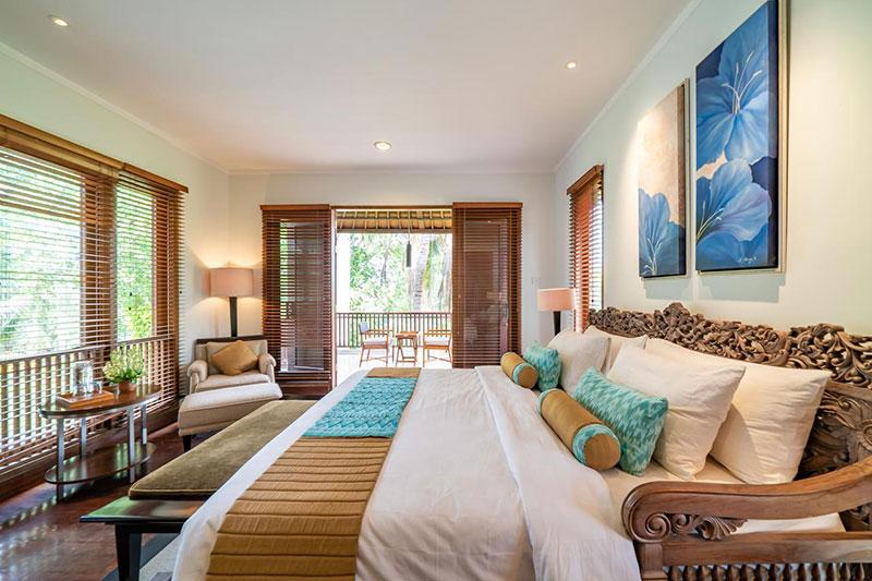 Bali running holiday bedroom